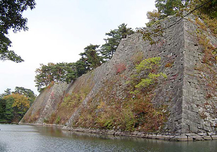 The Highest Stone Wall in Japan