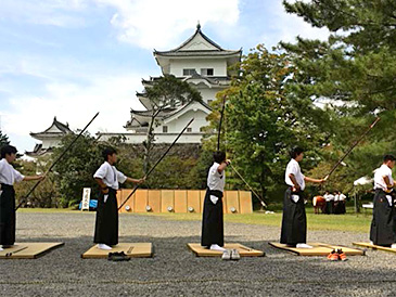 High School Students' Kyudo Competition